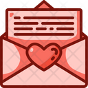 Love Letter Hearts Love And Romance Icon