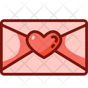 Love Letter Love And Romance Valentines Day Icon