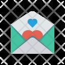 Letter Invitation Card Icon