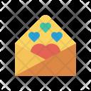 Letter Invitation Greeting Icon