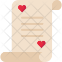 Document Letter Valentine Icon