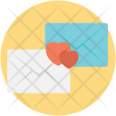 Letters Love Connection Icon