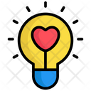 Love Light Light Lamp Icon