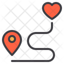 Place Location Love Love Location Love Place Icon