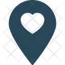 Loving Map Date Point Dating Icon