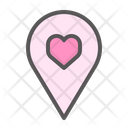 Location Dating Place Icon