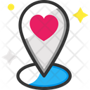 Love Location Icon