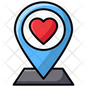 Love Location Love Direction Love Place Icon
