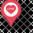 Love Romance Location Icon