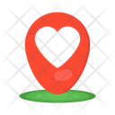 Love Location Love Place Dating Location Icon