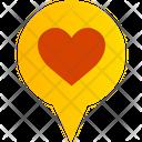 Location Pin Navigation Icon