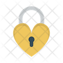 Love Lock Wedding Romance Icon
