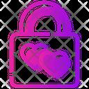 Valentine Day Lock Relationship Icon