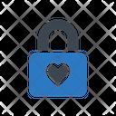 Love Lock Heart Icon