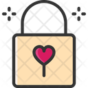M Padlock Love Lock Padlock Icon