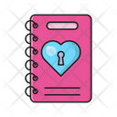 Binder Heart Love Icon