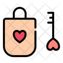 Lock Love Romance Icon