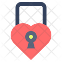 Lock Heart Love Icon
