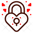 Lock Padlock Heart Lock Icon