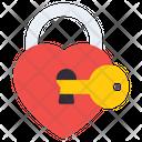Heart Care Heart Lock Heart Padlock Icon