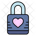 Love Lock Padlock Love Icon