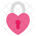 Love Lock Padlock Lock Icon