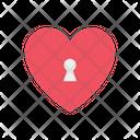 Love Lock Like Key Icon