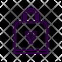 Love Lock Pad Lock Locks Icon