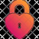 Love Lock Heart Lock Love Icon