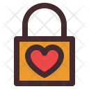 Lock Love Heart Icon