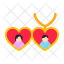 Love locket Icon