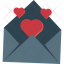 Love Mail Love Greeting Happiness Icon