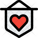 Love Medal Icon