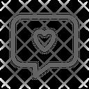 Love message Icon