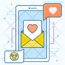 Love Message Love Chat Love Discussion Icon