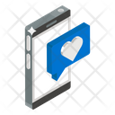 Love Message Love Chat Love Communication Icon