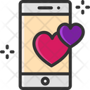 M Smartphone Love Gift Love Message Icon