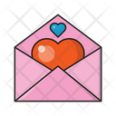 Love Message Heart Icon