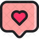 Love Message Communication Icon