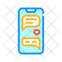 Loving Correspondence Messenger Icon