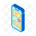 Loving Correspondence Messenger Icon