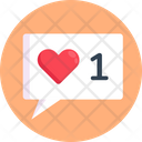 Love Message Romantic Message Valentine Icon