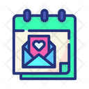 Love Message Love Love Letter Icon