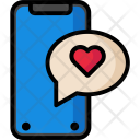 Iphonex Chat Love Icon