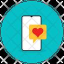 Love Message Romantic Chat Mobile Message Icon
