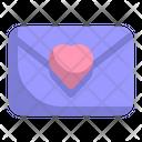 Letter Mail Valentine Icon