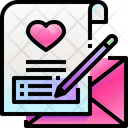 Love Message Love Letter Message Icon