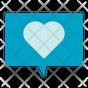 Love Message Love Comment Icon