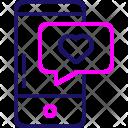 Love Message Mobile Icon
