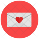 Closed Envelope Love Icon